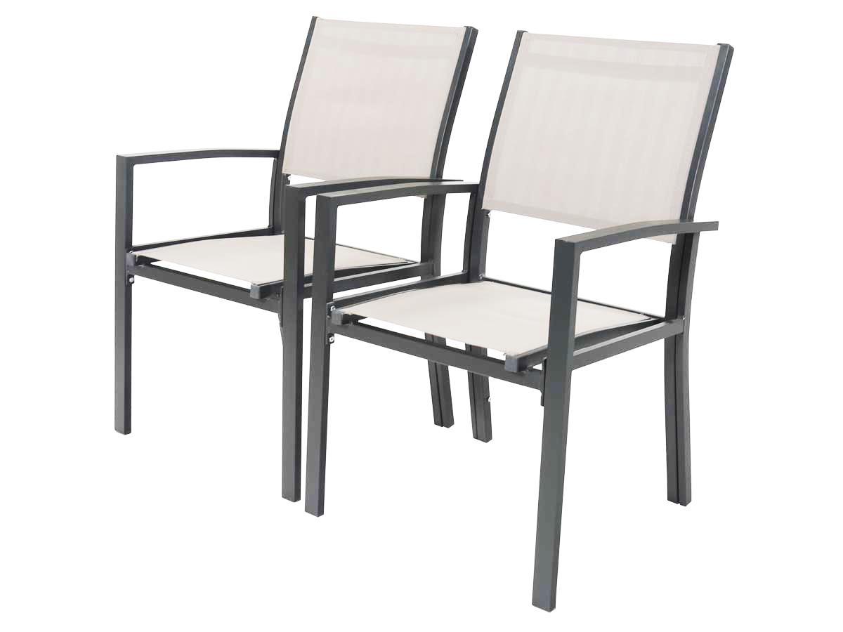 Ensemble Table et 4 chaises empilable
